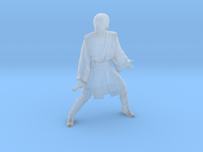 1/48 Luke in Jedi Master Outfit in Smooth Fine Detail Plastic