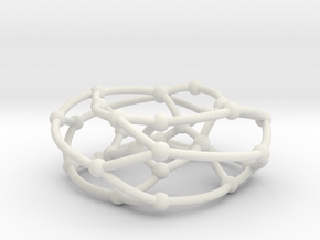 Dyck graph on torus in White Natural Versatile Plastic