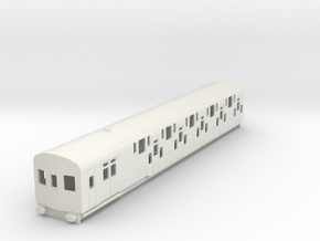 o-87-bulleid-dd-emu-driver-coach in White Natural Versatile Plastic