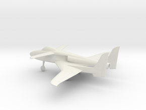 Scaled Composites 151 ARES in White Natural Versatile Plastic: 1:64 - S