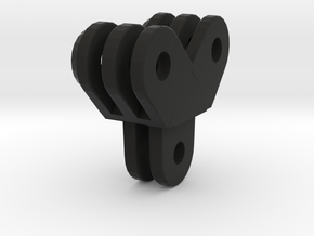gopro angled double extension in Black Natural Versatile Plastic