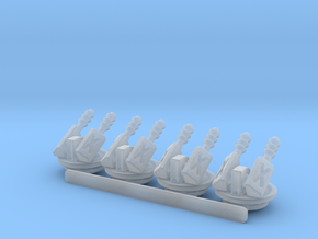 Turret Pack (B) 6mm Gaming in Smooth Fine Detail Plastic
