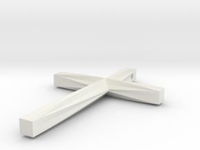Crossman Hall Pendant #1 in White Natural Versatile Plastic
