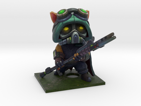 Omega Squad Teemo in Full Color Sandstone