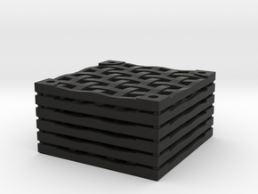 6x6 Iron Grate Set in Black Natural Versatile Plastic