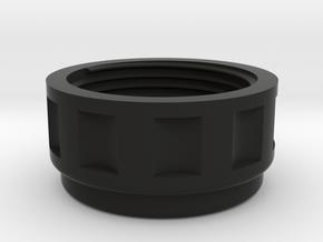 HoseScrewClamp in Black Natural Versatile Plastic