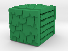 3 x 3 Rough Shingle Set in Green Processed Versatile Plastic