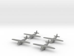 Kokusai Ku-8 (x4) 1/700 in Gray Professional Plastic