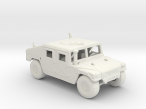 m966a1 285 scale in White Natural Versatile Plastic