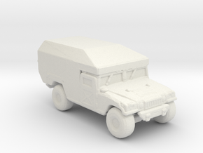 M996 Ambulance 160 scale. in White Natural Versatile Plastic