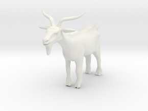 Printle Thing Goat - 1/24 in White Natural Versatile Plastic