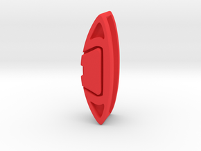 CLIPER for Brake Disc Key Fob in Red Processed Versatile Plastic