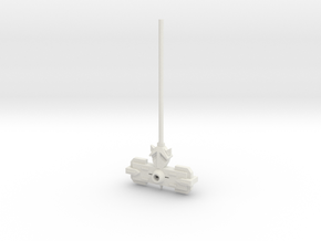 forge hammer 5mm weapon in White Natural Versatile Plastic