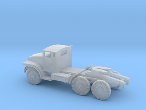 1/100 Scale M221 Tractor M135 Series in Smooth Fine Detail Plastic