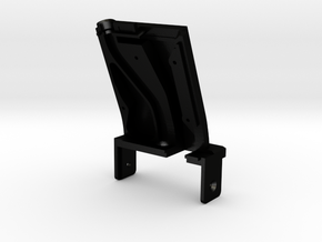 P90 Drum Mag Angle Mount - 22 Degree - Side A in Matte Black Steel