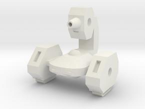 A-ASSAULT CORE PART 1 in White Natural Versatile Plastic