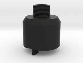 Skorpion Thread Adapter in Black Natural Versatile Plastic
