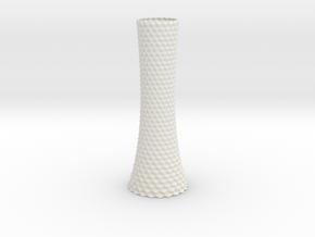 Vase 1004A in White Natural Versatile Plastic