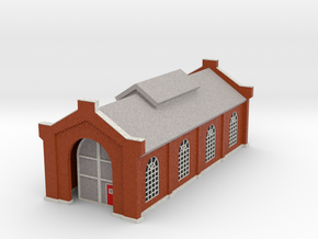 Engine House - Zscale in Full Color Sandstone