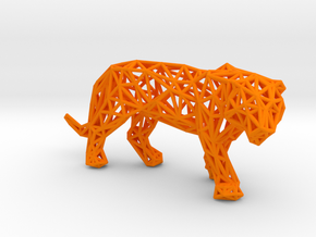 Sumatran Tiger in Orange Processed Versatile Plastic