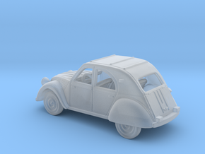 Citroen 2 CV 1:87 HO in Smooth Fine Detail Plastic