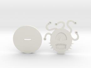 Beholder in White Natural Versatile Plastic