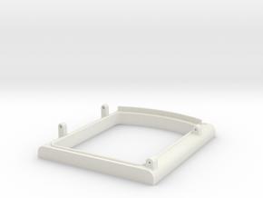 US&S box door frame bottom in White Natural Versatile Plastic