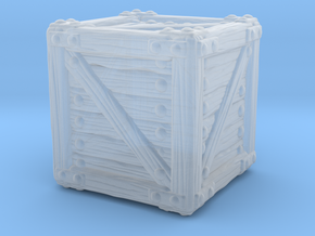Small Crate A in Smooth Fine Detail Plastic