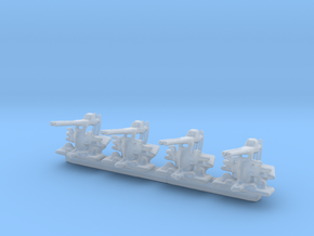300 Scale Lindberg U.S.S. DeLong 40mm Set of 4 in Smooth Fine Detail Plastic