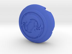 Hanzo thumb stick cap in Blue Processed Versatile Plastic