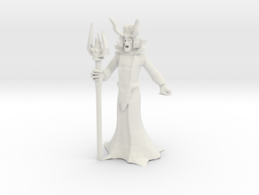 Lich Miniature (28mm Scale) in White Natural Versatile Plastic