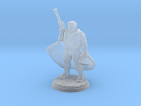 Gunslinger (28mm Scale Miniature) in Smooth Fine Detail Plastic