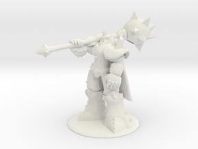 Dragon Knight Mordekaiser in White Natural Versatile Plastic