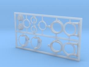 2 Stück Peildiopter 1:40 in Smooth Fine Detail Plastic