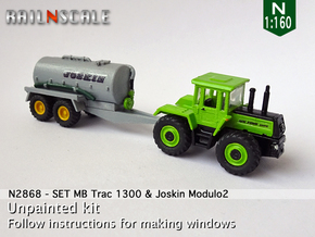 SET MB Trac 1300 & Joskin Modulo2 (N 1:160) in Smooth Fine Detail Plastic