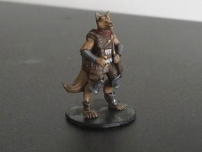 Kitsune Mage in Smooth Fine Detail Plastic