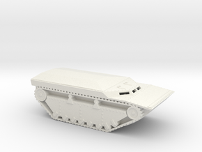 1/87 Scale LVT-4 COVERED VEHICLE in White Natural Versatile Plastic