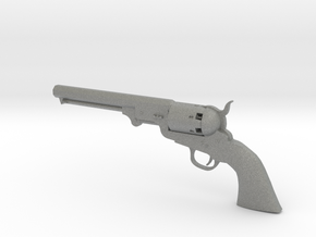 1/3 Scale Colt 1851 Navy in Gray Professional Plastic