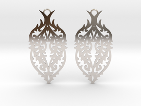 Thorn earrings in Platinum: Small