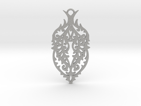 Thorn pendant in Aluminum: Large