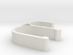 Lulav Holder Chair Clip in White Natural Versatile Plastic