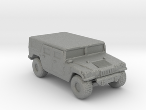 M1035a1 Hardtop 160 scale in Gray PA12