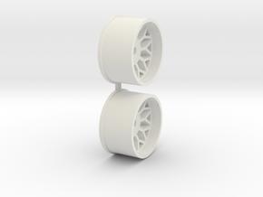 Offset-0,5-rear-BBS-Rims-MiniZ-AWD in White Natural Versatile Plastic