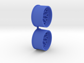 Offset-2,5-rear-BBS-Rims-MiniZ-AWD in Blue Processed Versatile Plastic