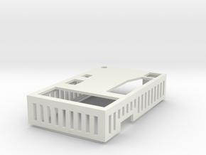 ElmodCaseRevF cover in White Natural Versatile Plastic