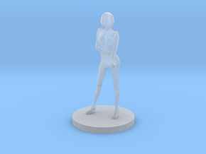 Girl Model (28mm Scale Miniature) in Smooth Fine Detail Plastic
