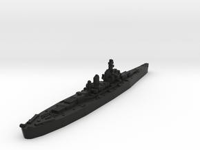 Montana Class Battleship (United States) Global Wa in Black Premium Versatile Plastic