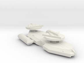 3125 Scale Worb Heavy Cruiser (CA) MGL in White Natural Versatile Plastic
