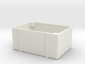 ZRD Fuel Cell Bottom in White Natural Versatile Plastic