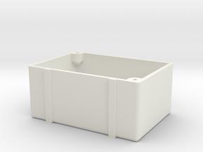ZRD Fuel Cell Bottom in White Natural Versatile Plastic
